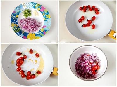 Salad cà chua sắc màu cho ngày nắng lên 5