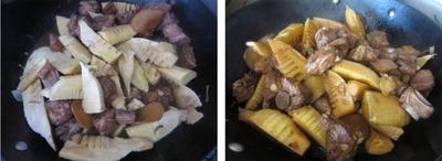 Đậm đà ngon cơm với món sườn kho măng 9