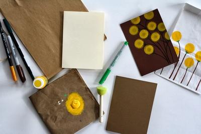 Cách trang trí túi xách, gói quà, thiệp đơn giản mà đẹp 3