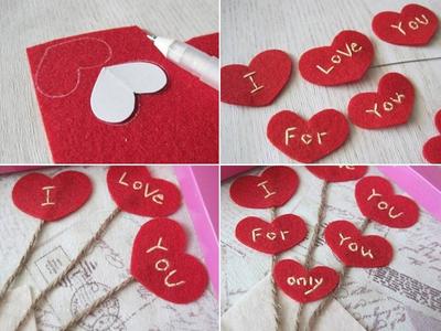 Lãng mạn với khung tranh bức thư tình yêu tự chế 12