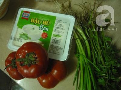 Ngọt lành món canh đậu nấu cà chua 3