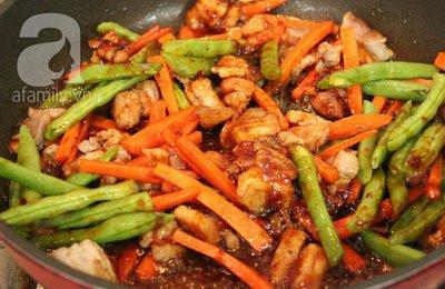Thịt xào rau củ kiểu Thái ngon mắt ngon miệng 10