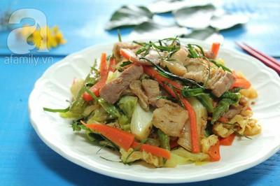 Thịt xào rau củ kiểu Thái ngon mắt ngon miệng 15