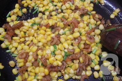 Làm món bắp xào cực ngon ăn vặt trong ngày giao mùa 18