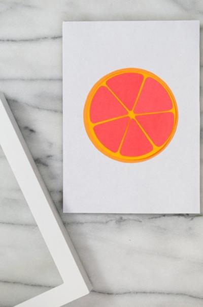 Khéo tay làm bộ tranh trái cây sắc màu trang trí nhà thêm ấn tượng 9