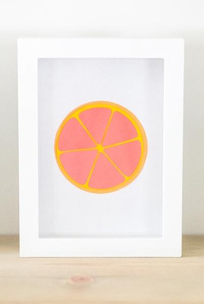 Khéo tay làm bộ tranh trái cây sắc màu trang trí nhà thêm ấn tượng 11