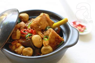 Đầu tháng ăn chay ngon với đậu phụ kho kiểu Huế 12