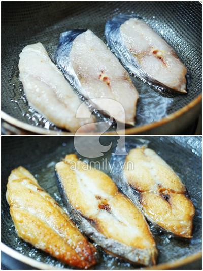 Cá chiên xốt cà đậm đà ngon cơm 6