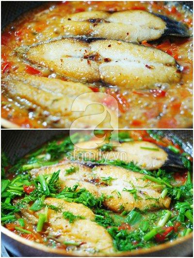 Cá chiên xốt cà đậm đà ngon cơm 10