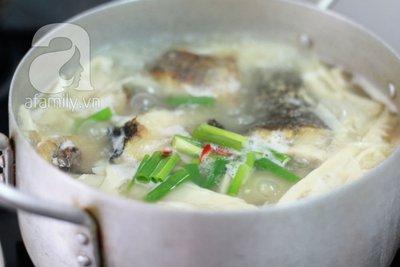 Canh cá nấu măng cho bữa tối ngon cơm 17