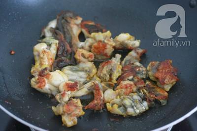 Lạ miệng thơm ngon món ếch xào măng 9
