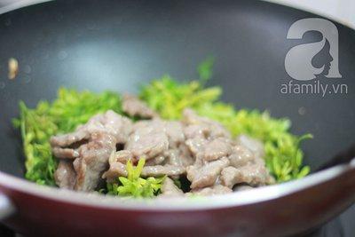 Đầu tuần ngon cơm với thiên lý xào thịt bò  12