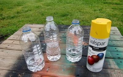 3 bước đơn giản tái chế chai nhựa thành lọ cắm hoa 6