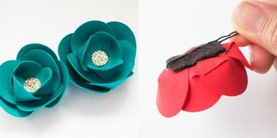 Thêm một cách làm hoa vải siêu tốc mà đẹp 12