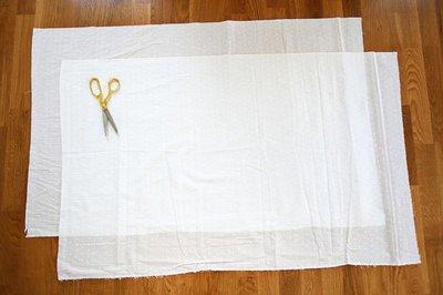 Cách làm rèm cửa mà không cần may vá 7