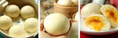 Bánh bao nhân trứng muối đậm đà lạ miệng 17