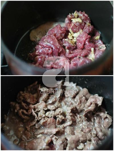 Nộm xoài thịt bò chua giòn hấp dẫn 11
