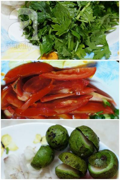 Canh sấu nấu thịt chua ngon hết sảy! 5