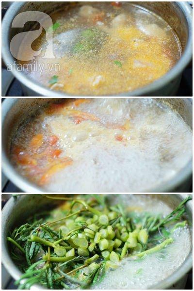 Canh sấu nấu thịt chua ngon hết sảy! 11