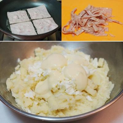 Bánh khoai tây kẹp thịt lạ miệng hấp dẫn 12