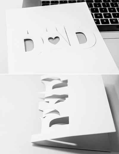 2 cách tự làm thiệp xinh dành riêng cho ngày của Cha 16