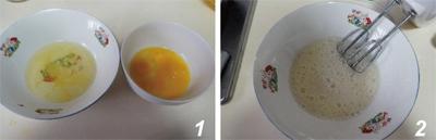 Xốp mịn món bánh chiffon kẹp mứt 5