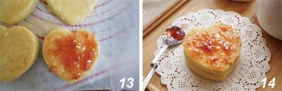 Xốp mịn món bánh chiffon kẹp mứt 15
