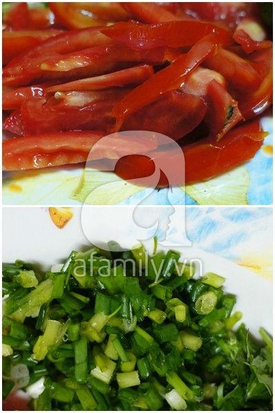 Trứng bác cà chua siêu tốc mà ngon cơm 5