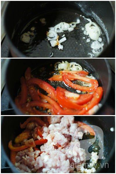 Trứng bác cà chua siêu tốc mà ngon cơm 10