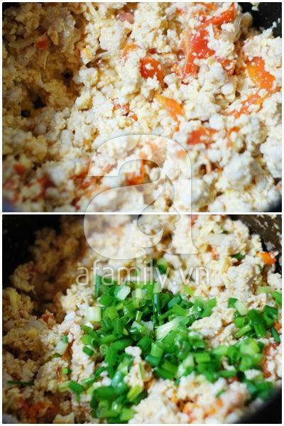 Trứng bác cà chua siêu tốc mà ngon cơm 14