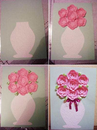 Tự chế tranh lọ hoa trang trí nhà thêm lãng mạn 11