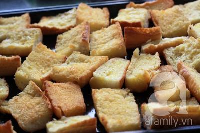 Bánh mì bơ ruốc siêu tốc ăn sáng ngon tuyệt đỉnh! 13