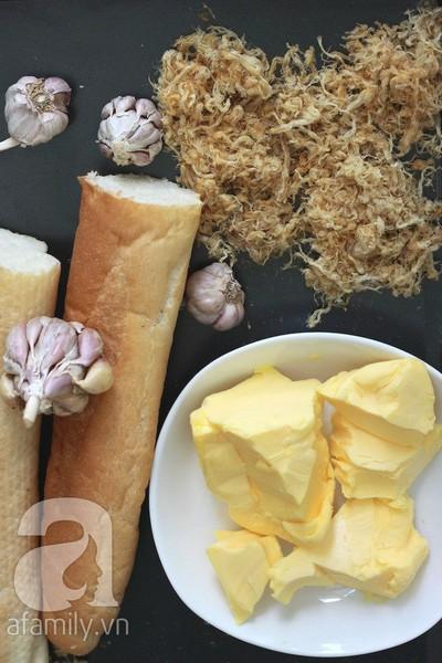 Bánh mì bơ ruốc siêu tốc ăn sáng ngon tuyệt đỉnh! 3