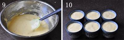 Làm bánh cupcake chanh xốp mềm mà không cần lò nướng 12