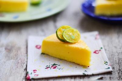 Bánh bông lan hương quất mềm thơm hấp dẫn 13