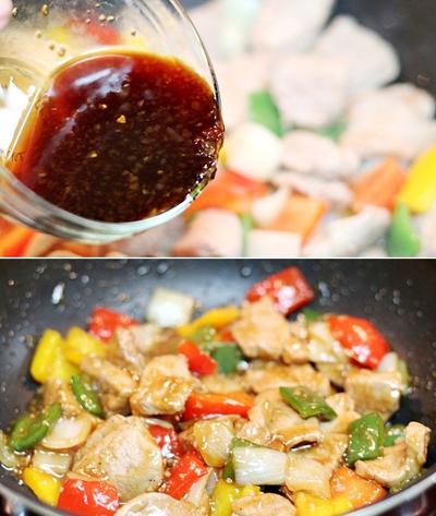 Thịt xào ớt chuông giản dị ngon cơm 13
