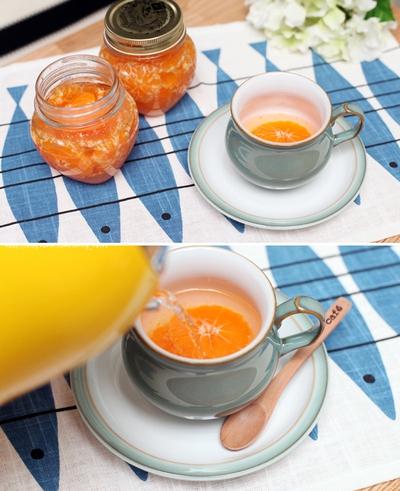 Làm nước quýt ngọt thơm nhâm nhi ngày giao mùa 11
