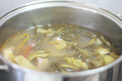 Canh dưa nấu sườn ngon cơm ngày se lạnh 11