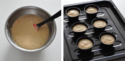 Cuối tuần nhâm nhi bánh cupcake chuối mềm thơm nhé! 11