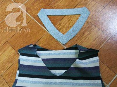 Cách may áo gi-lê cho bé từ mẫu cũ cực dễ dàng 13