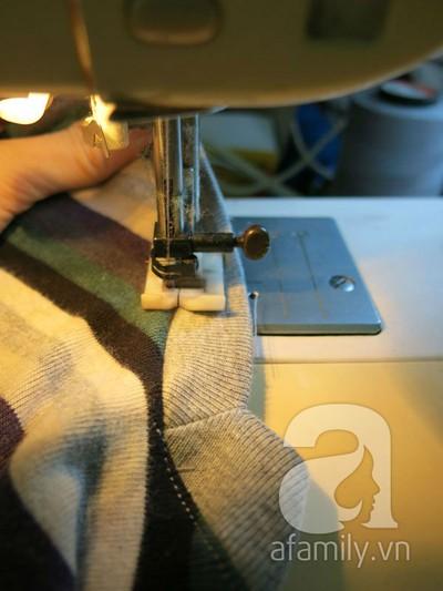 Cách may áo gi-lê cho bé từ mẫu cũ cực dễ dàng 14