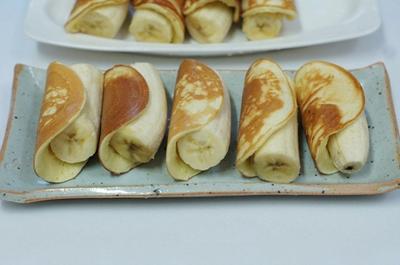 Bánh Pancake cuộn chuối cho bữa sáng ngon miệng 12