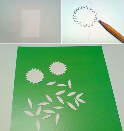 2 cách làm thiệp hoa nhanh chóng mà bắt mắt 5