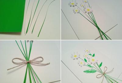 2 cách làm thiệp hoa nhanh chóng mà bắt mắt 9