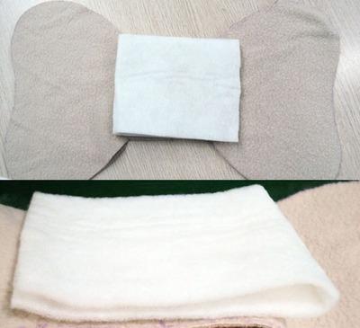 Tự may bộ chăn gối và khăn đáng yêu tặng bé 9