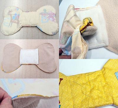 Tự may bộ chăn gối và khăn đáng yêu tặng bé 11