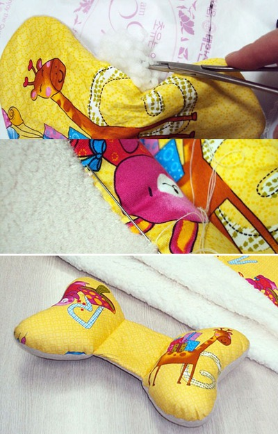 Tự may bộ chăn gối và khăn đáng yêu tặng bé 13