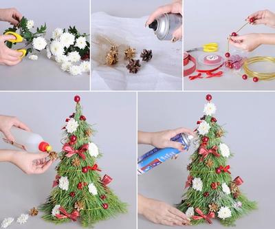 3 cách làm cây thông mini đáng yêu cho mùa Noel 25