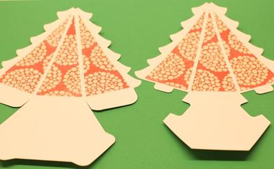 Tự chế hộp quà hình cây thông Noel siêu xinh 7