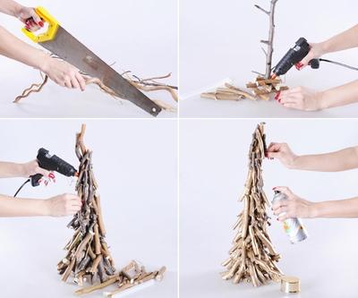 3 cách làm cây thông mini đáng yêu cho mùa Noel 14